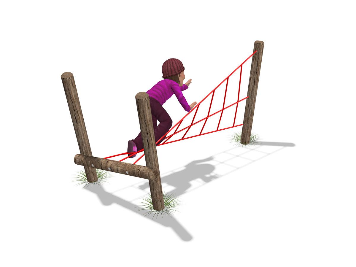 Twister rope net