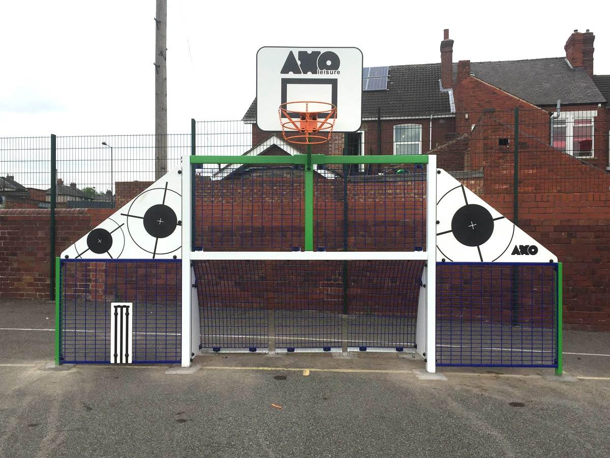 School court mini goal