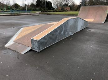 New skate ramps for Barnsley Park