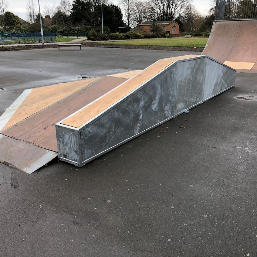 Wombwell skate park