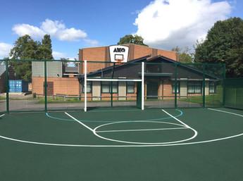 Ashby School enhances play time with MUGA