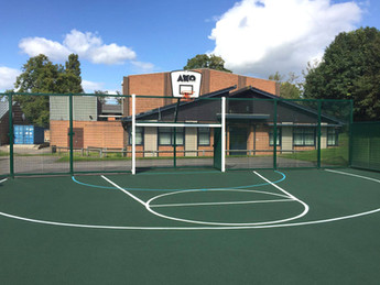 Ashby School enhances play time with MUGA