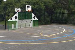 Basketball mini goal