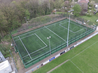 Huge new 3G pitch and court fencing