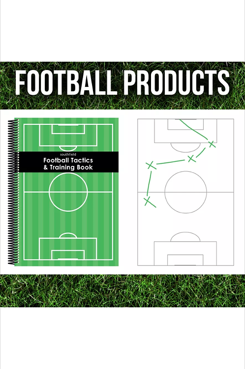 A6 Football Coaches Tactics/ Coaching Notepad