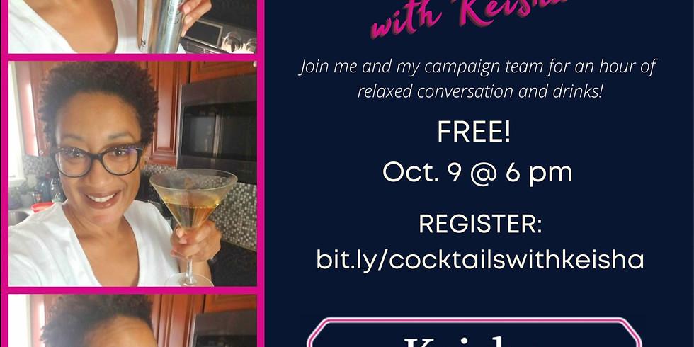 Cocktails with Keisha Nzewi