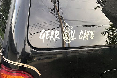 Gear Oil Cafe Turbo Decal
