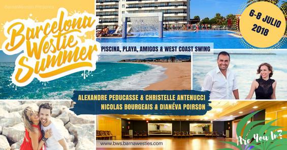 Barcelona Westie Summer 2018