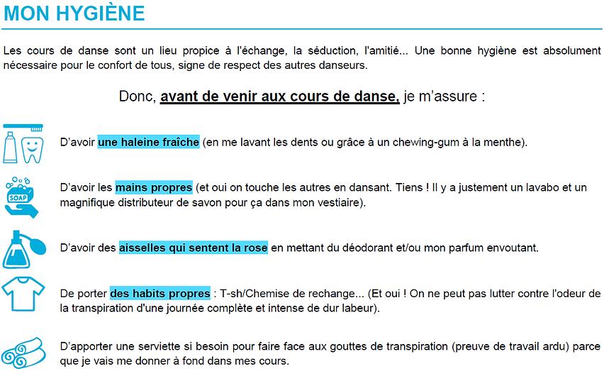 Charte relationnelle | Encas-Danse Studio | Toulouse-Purpan