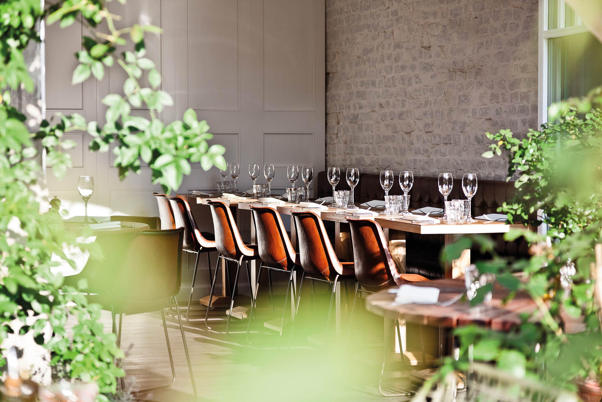 A classy canalside Restaurant