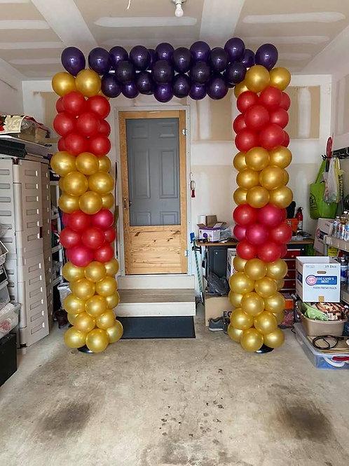 10x7 Square Doorway Arch