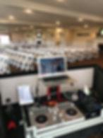 ceremony sound setup Oct 2018 DJ stefano