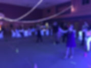 relay races with black lights for birthday parties are what makes DJ stefano blatz a top notch entertainer