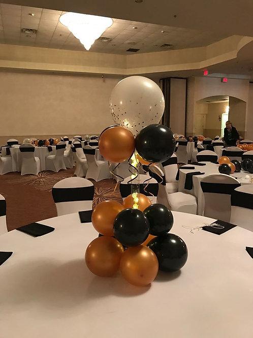 Lighted Balloon Centerpiece