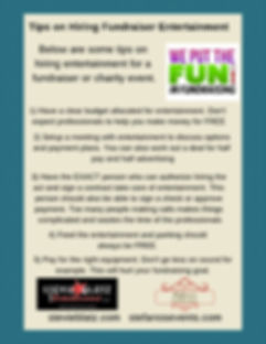 fundraising tips on entertainment .jpg
