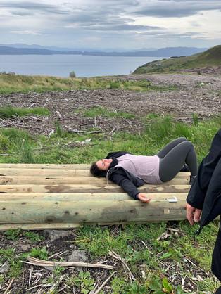 Restorative Yoga after a long hike