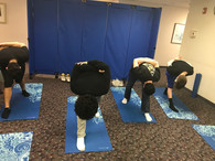 Yoga in teenage rehabilitation facilities