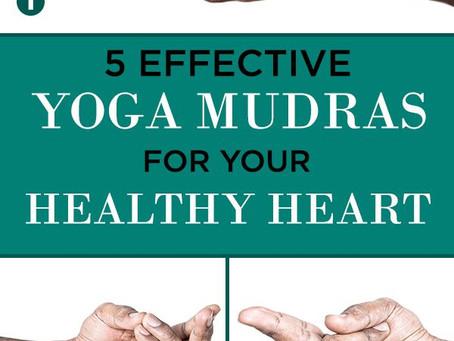 Yoga Mudras for the Heart