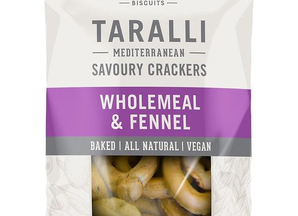 TARALLI -  Wholemeal & Fennel  (250g)