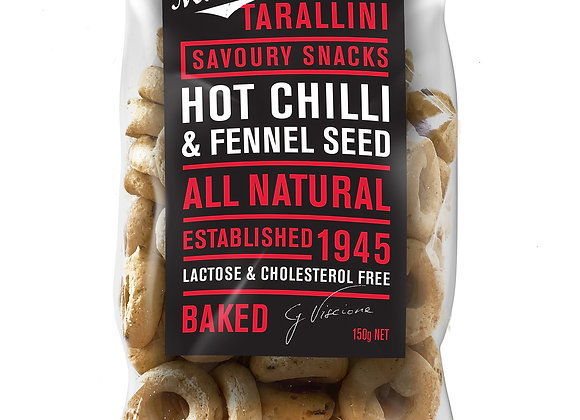 TARALLINI - Hot Chilli & Fennel (150gr)