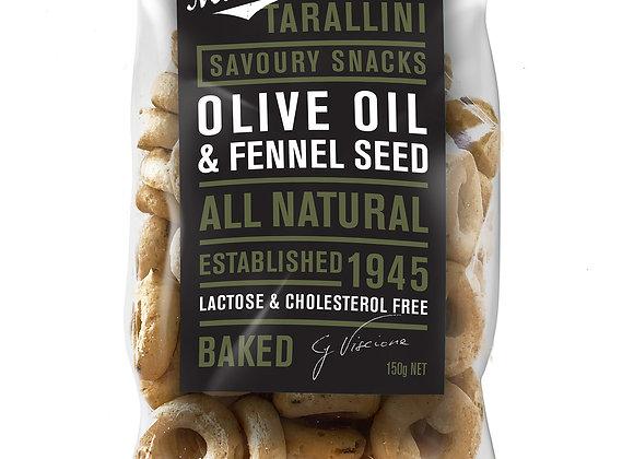 TARALLINI - Olive Oil & Fennel Seeds (150gr)