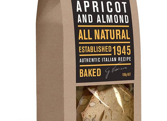 ALMOND BREAD - Apricot & Almond (100gr)