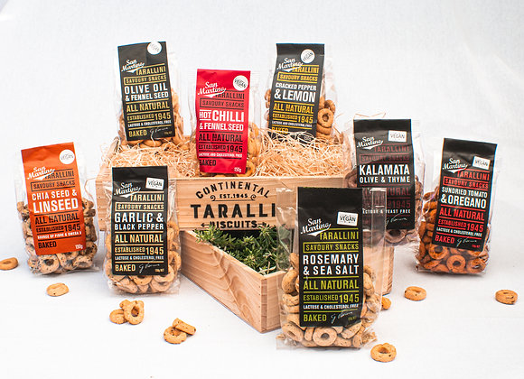 GIFT BASKET - SAVOURY DELUXE