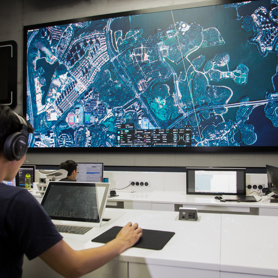 EHang intelligent aerial logistics whole package solution-command and control system