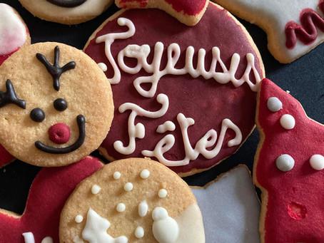 Biscuits de Noël Bruz