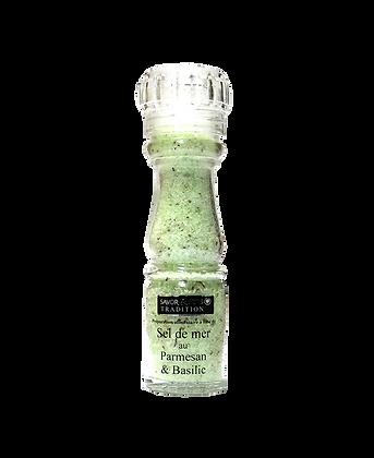 Sel saveur basilic et parmesan