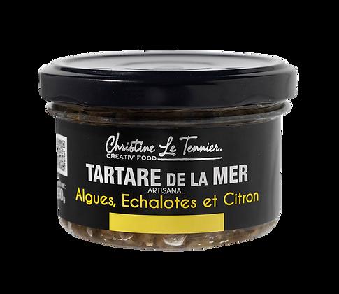 Tartare de la mer – Algues, échalotes et citron