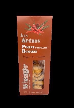 Piment d'espelette romarin