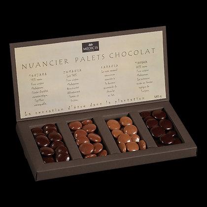 Nuancier Palets Chocolats Pure Origine 180g