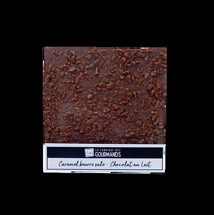 Caramel beurre salé chocolat lait