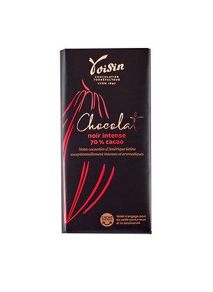 Tablette noir intense 70% cacao