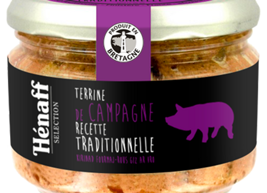 Terrine de campagne traditionnelle