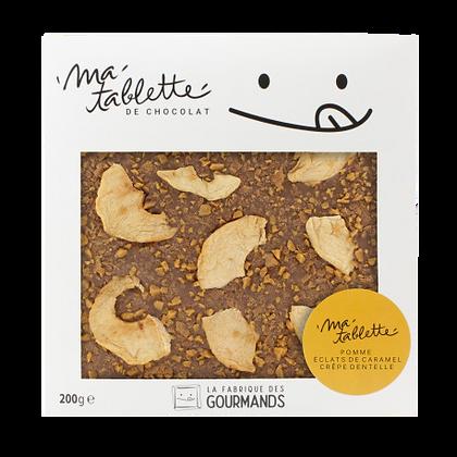 Tablette chocolat au lait - La bretonne 200g