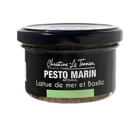 Pesto marin – Laitue de mer et basilic