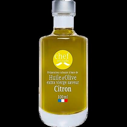 Huile d'olive saveur citron