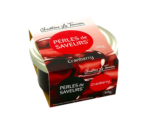 Perles de Saveurs Cranberry
