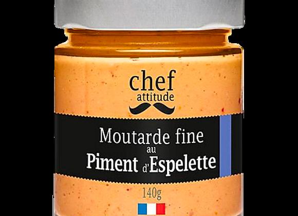 Moutarde fine au piment d'Espelette