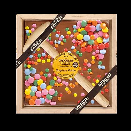 Chocolat à casser smarties