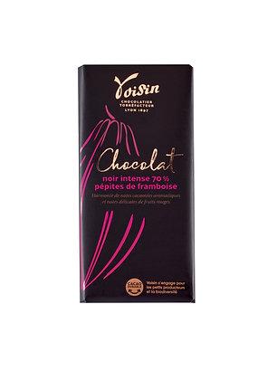 Chocolat noir framboise
