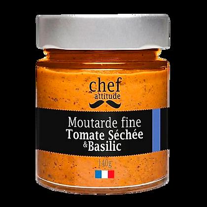 Moutarde fine tomate séchée basilic