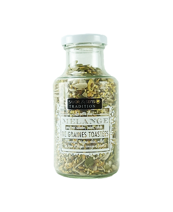 Mélange de graines toastées