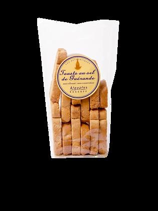 Toasts au sel de Guerande