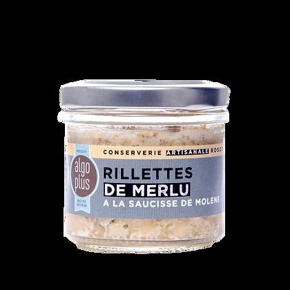 Rillettes de merlu à la saucisse de molène 90g