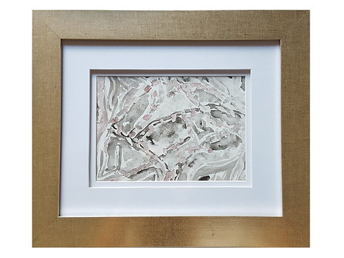 Framed Watercolor- WC1217.3