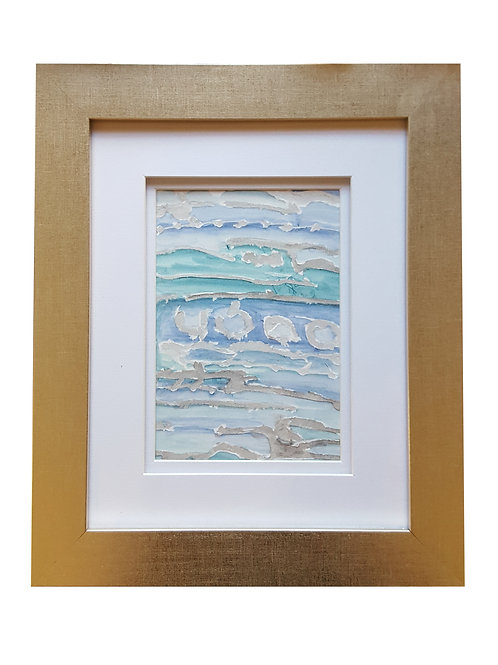 Framed Watercolor- WC2418.3