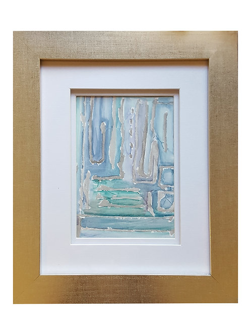 Framed Watercolor- WC2418.4